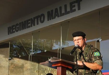 Assessor de Ramos, que apresentou peças de desinformação, é coronel da reserva
