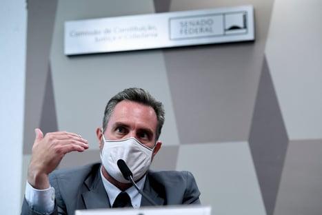 """""""Partiu CPI"""", disse Dominguetti em mensagem para Cristiano Carvalho"""