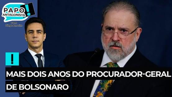 Mais dois anos do procurador-geral de Bolsonaro