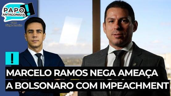 Marcelo Ramos nega ameaça a Bolsonaro com impeachment: o que eu quero fazer eu faço