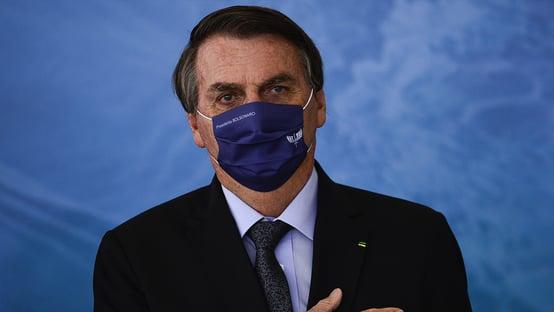 """Bolsonaro cita reinfecção de Doria e diz que lockdown """"não tem comprovação científica"""""""