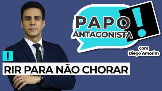 AO VIVO: rir para não chorar – Papo Antagonista com Diego Amorim