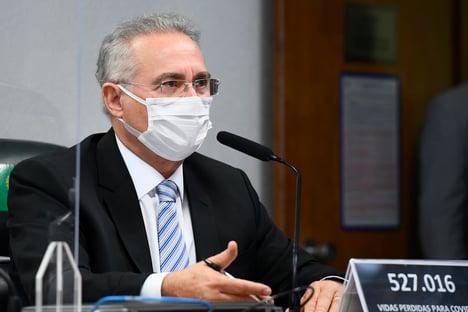 CPI não é picadeiro, diz Renan sobre vídeo de Hang com algemas