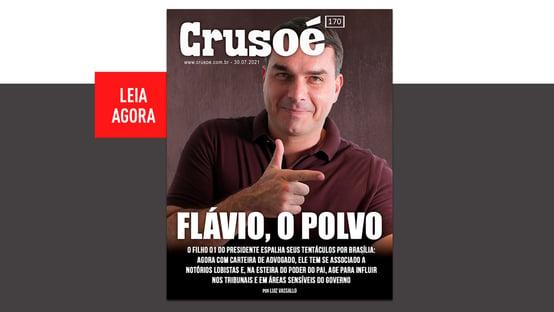 Crusoé: Flávio Bolsonaro, o polvo