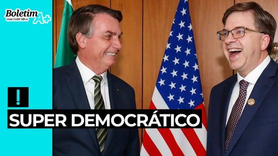 Boletim A+: super democrático