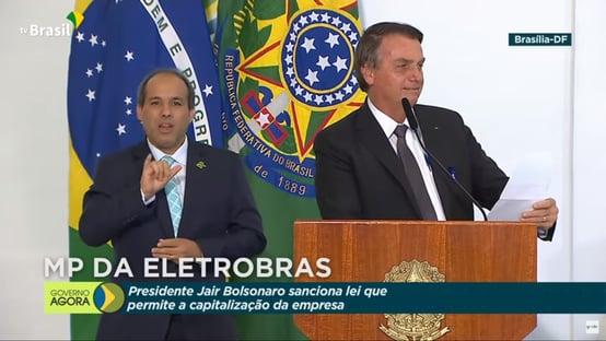 Bolsonaro cita Ricardo Barros cinco vezes em discurso