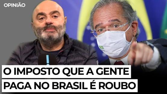 Mario Sabino: o imposto que a gente paga no Brasil é roubo
