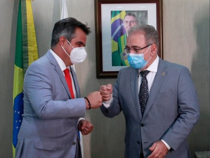 Vamos trabalhar por um Brasil melhor, diz Queiroga a Ciro Nogueira