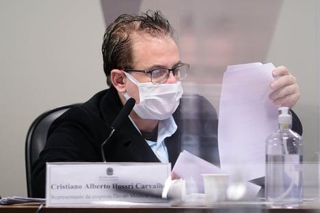 Representante da Davati cita seis militares nas negociações por vacinas