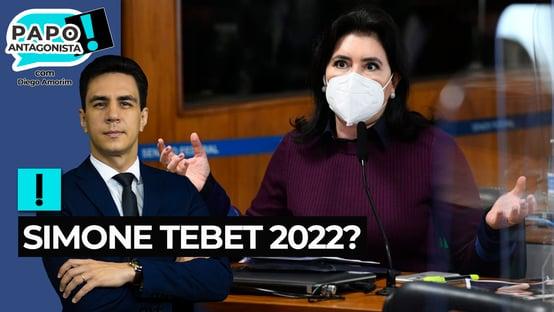 MDB estuda lançar Simone Tebet à Presidência em 2022