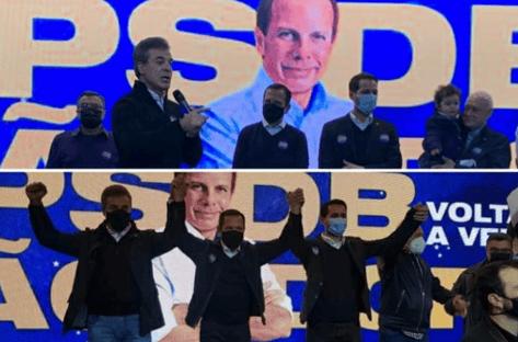 """""""Grande brasileiro, grande paranaense, grande patriota"""", diz Doria, sobre Richa"""