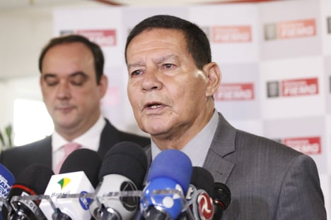 Mourão diz que carta de Bolsonaro demonstra grandeza moral