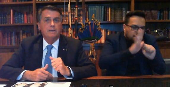 Sem provas, Bolsonaro diz que hackers tiraram 12 milhões de votos dele em 2018
