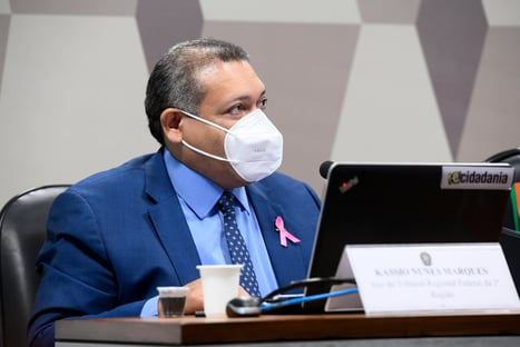 Com erro em contagem manual, Nunes Marques é eleito suplente do TSE