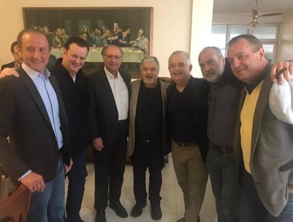 Kassab garante Alckmin e atrai Skaf