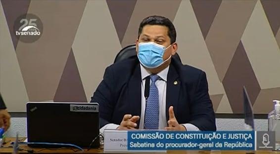 Alcolumbre abre votação para recondução de Augusto Aras