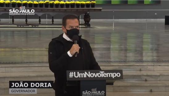 Doria diz que GP de São Paulo da Fórmula 1 terá 100% do público