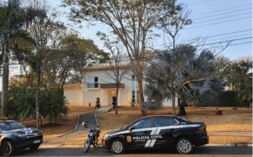 Polícia cumpre mandado na casa do secretário de Saúde de Goiás