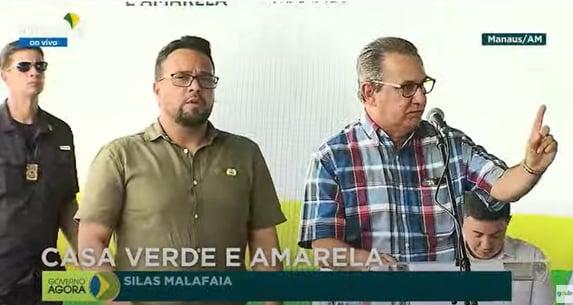 Silas Malafaia faz comício e ataca STF em evento oficial do governo