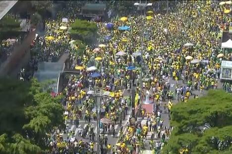 São Paulo contra Bolsonaro