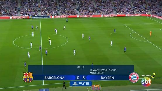 SBT e Barcelona perdem de goleada