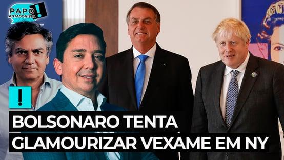 Bolsonaro tenta glamourizar vexame em NY