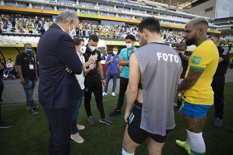 CBF diz que avisou Argentina três vezes sobre veto a jogadores vindos da Inglaterra