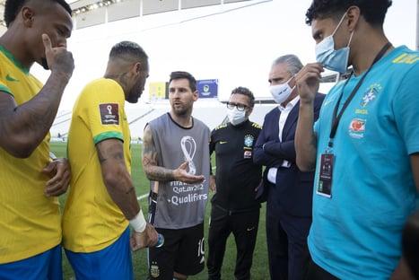 CPI da Covid: senador pede informações sobre jogo entre Brasil e Argentina