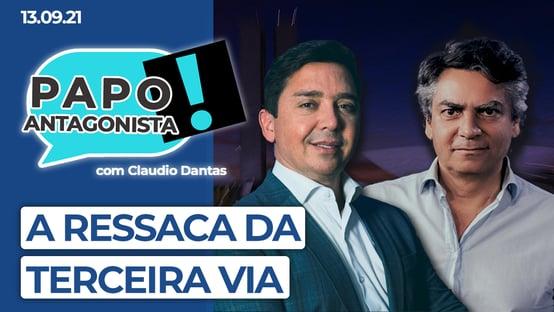 AO VIVO: a ressaca da terceira via – Papo Antagonista com Claudio Dantas e Diogo Mainardi