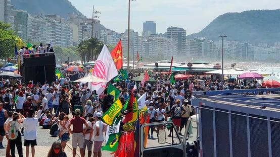 Copacabana é Fora, Bolsonaro
