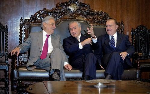 FHC, Temer e Sarney criticam arroubos de Bolsonaro e defendem diálogo
