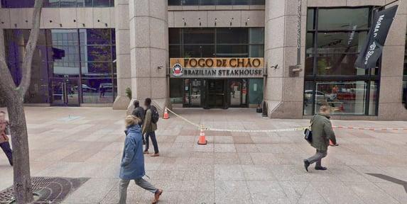 Churrascaria em NY faz 'puxadinho' para Bolsonaro almoçar | O Antagonista