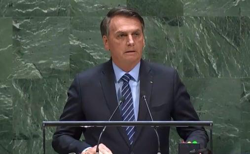"""Jair Bolsonaro diz que fará discurso """"em braile"""" na ONU"""