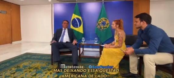 Bolsonaro volta a mentir sobre Covid em entrevista a negacionistas alemães