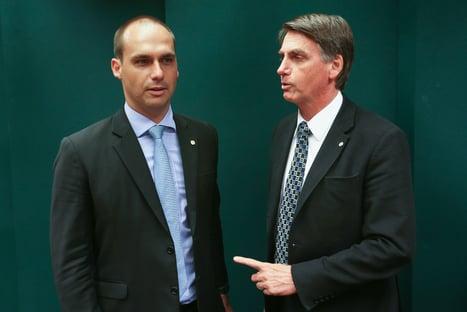 Discurso mentiroso na ONU foi decisão de Bolsonaro e Eduardo