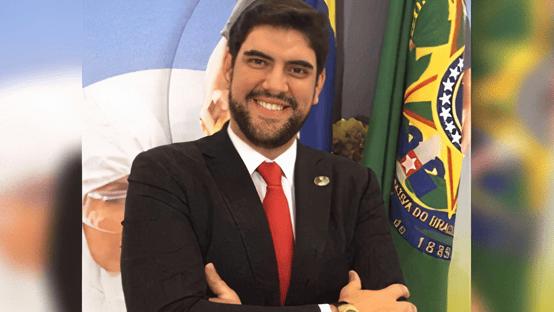 Marconny Faria já está no Senado