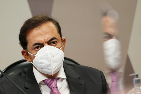 Tolentino esteve com Bolsonaro em solenidade de sanção da capitalização da Eletrobras