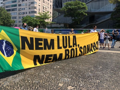 """Nem Lula, nem Bolsonaro"""