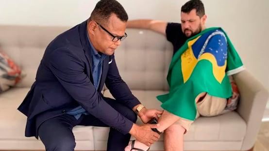 Mulher de Oswaldo Eustáquio diz que Moraes revogou prisão