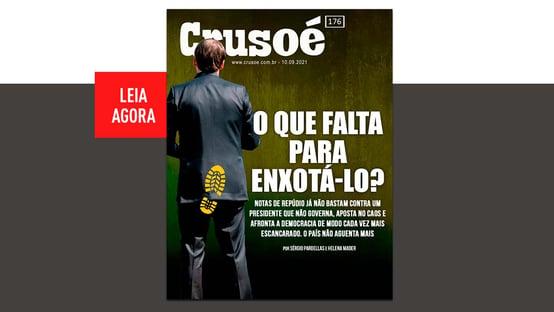 Só falta um tempinho para enxotar Bolsonaro