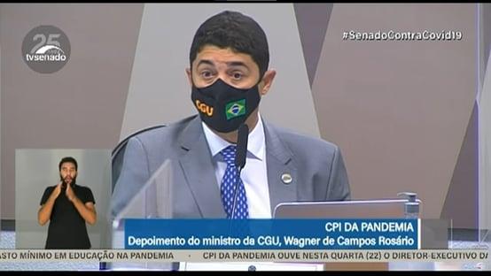 CGU foi acionada sobre caso Precisa apenas em agosto, diz Wagner Rosário