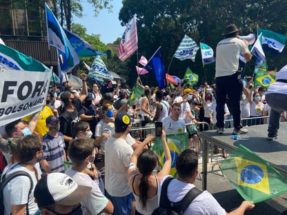 Pesos-pesados do PIB participam de manifestação na Paulista