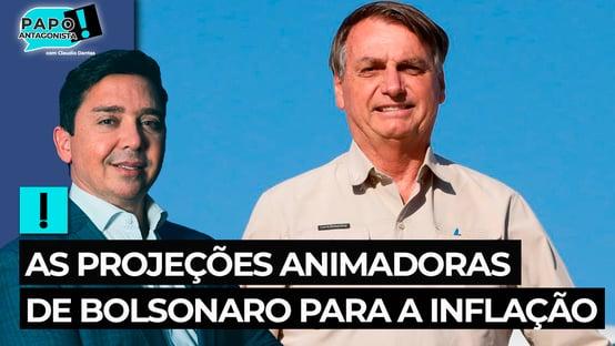 As projeções animadoras de Bolsonaro para a inflação