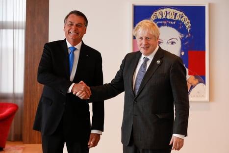 Embaixada contesta Bolsonaro sobre suposto pedido de Boris Johnson