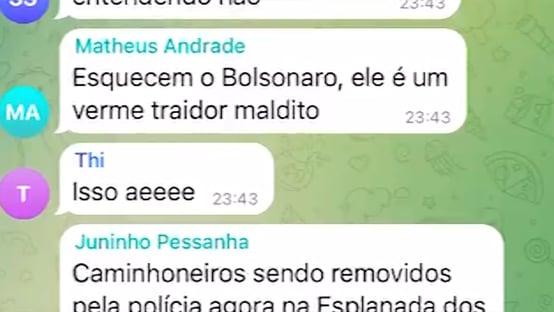 Exclusivo: caminhoneiros se revoltam com recuo de Bolsonaro
