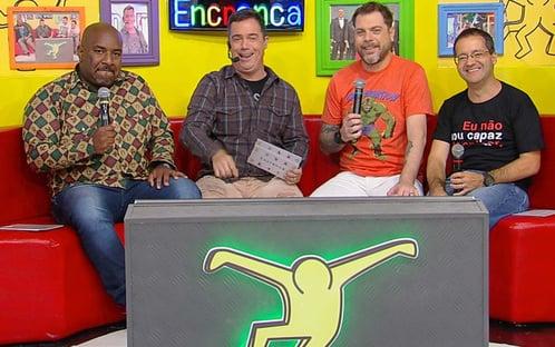 """Apresentadores pedem demissão do """"Encrenca"""", único sucesso da RedeTV!"""