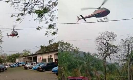 Piloto de helicóptero faz manobra após ser sequestrado e evita fuga em presídio