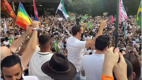 Fiasco de público na Paulista não afeta Doria, dizem aliados do tucano