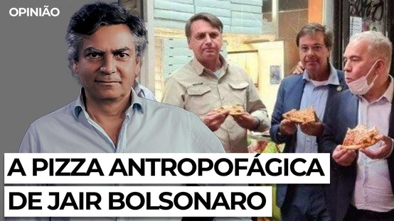 A pizza antropofágica de Jair Bolsonaro