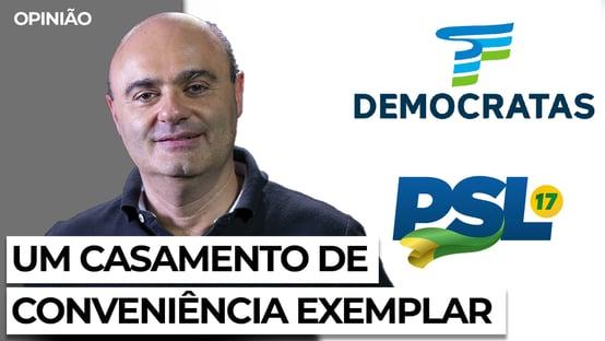 Fusão entre DEM e PSL pode viabilizar candidatura